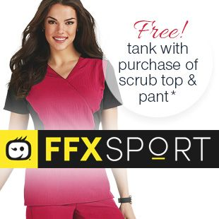 Check out the latest scrubs from WonderWink FFX Spot!