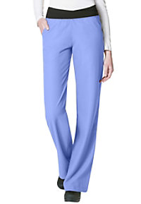 WonderWink Easy Fit No Roll Knit Waist Scrub Pants