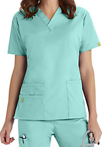 WonderWink Bravo V-Neck Scrub Top