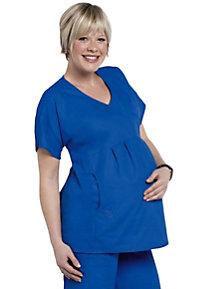 S.C.R.U.B.S. crossover maternity scrub top.