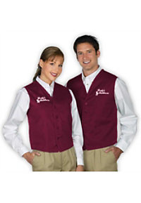 Fame Unisex Twill Vest