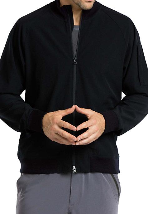 Barco One Men's zip Front Warm Up Scrub Jacket   Scrubs ...