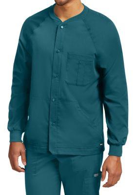 Grey's Anatomy Men's 5 Pocket Raglan Warm Up Jackets