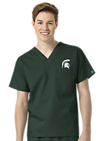 Michigan State Spartans V-Neck Top