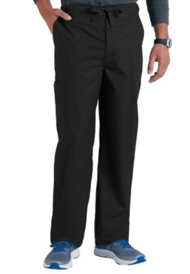 Fly Front Drawstring Cargo Pants