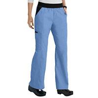 Cherokee Flexibles Knit Waist Pull On Pants