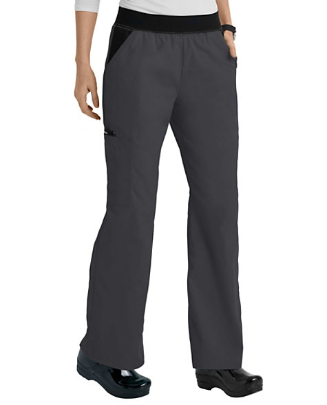 3e3c7bf168783 Cherokee Flexibles Mid Rise Knit Waist Pull-On Scrub Pants | Scrubs & Beyond