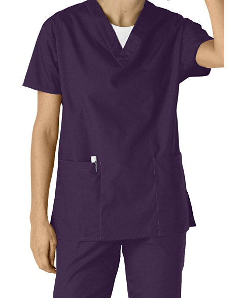1dbe5d10228 Dickies EDS Medical Uniforms 2-pocket V-neck Scrub Tops | Scrubs ...