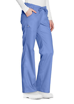 4dc9633325d Cherokee Workwear Low Rise Drawstring Cargo Scrub Pants | Scrubs ...