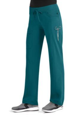 Cherokee Uniforms 1123A Low Rise Straight Leg Drawstring Pant