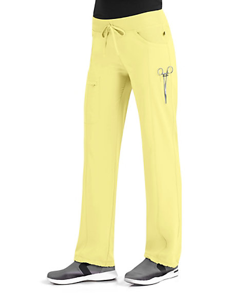c8256e149f1 Infinity By Cherokee Low Rise Straight Leg Drawstring Scrub Pants With  Certainty | Scrubs & Beyond