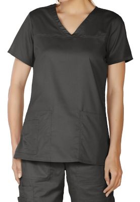 LifeThreads Contego Stretch V-neck Scrub Tops