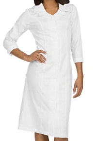 Med Couture Cathy Double Collar 3/4 Sleeve Dress
