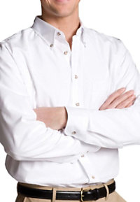 Edwards Garment Men's Long Sleeve Poplin Shirt