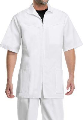 Cherokee Men's Zip Front Scrub Jackets