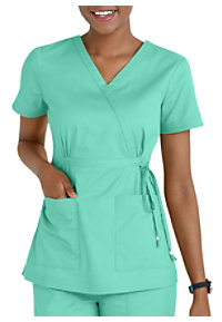 Koi Katelyn Mock-wrap Scrub Tops