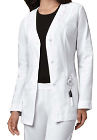 Cherokee 29 inch Button Front Embroidered Lab Coats