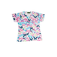 Bonita April Butterfly Print Tops