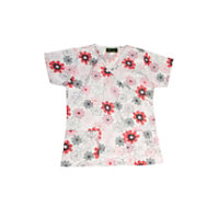 Bonita Dotted Flowers Print Tops