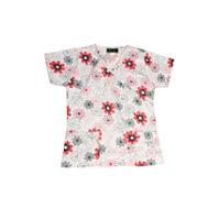 Bonita Dotted Flowers Print Tops