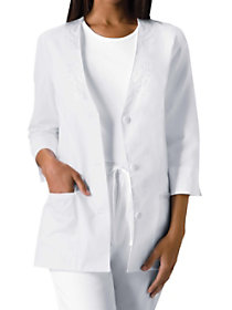 3/4 Sleeve Embroidered Jacket