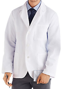 META Men's Consultation Length Lab Coats
