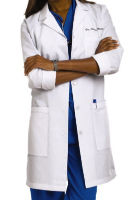 37 Inch 3-pocket Lab Coat
