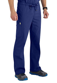 608058a6144 See Details item #16001A · Code Happy Men's Drawstring Cargo Scrub Pants  With Certainty