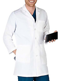 40 Inch Long Lab Coat