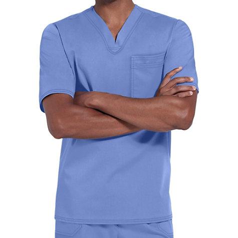 1a885941260 Cherokee Luxe Men's One Pocket V-neck Scrub Tops | Uniform City