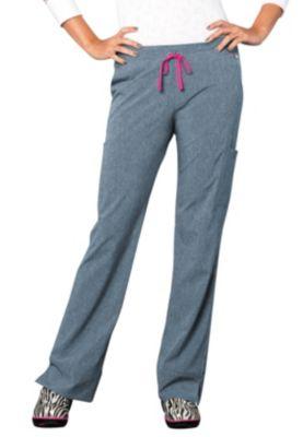 Smitten Magic Hottie Slim-fit Scrub Pants