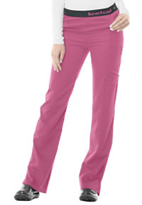 HeartSoul So In Love Logo Elastic Waistband Scrub Pants With Certainty