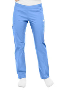 Landau Bliss Stretch Drawstring Cargo Scrub Pants
