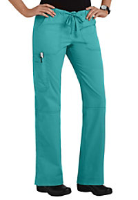 Landau For Women Prewashed Drawstring Scrub Pants