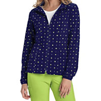 HeartSoul What A Square Navy Print Jackets