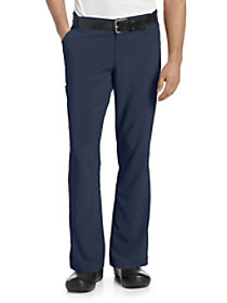Zip Fly Drawstring Pants with Belt Loops