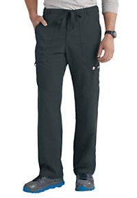 Grey's Anatomy Men's 6 Pocket Drawstring Waist Scrub Pants