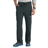 bc7ce7d6910 Grey's Anatomy Men's 6 Pocket Drawstring Waist Scrub Pants