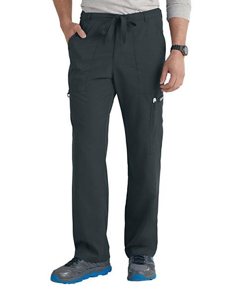 1dcbdc5cf78 Grey's Anatomy Men's 6 Pocket Drawstring Waist Scrub Pants | Scrubs & Beyond