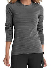 Micro Stripe Long Sleeve Tee