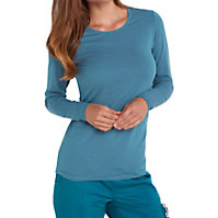 Beyond Scrubs Micro Stripe Long Sleeve Tees