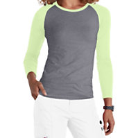 Beyond Scrubs Raglan Long Sleeve Underscrub Tees
