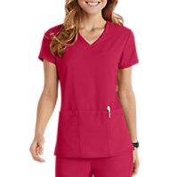 Grey's Anatomy Signature 3 Pocket V-neck Tops
