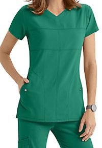 Grey's Anatomy Signature 2 Pocket Soft V-neck Scrub Tops