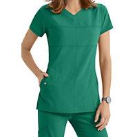 Grey's Anatomy Signature 2-pocket V-neck Tops
