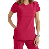 Grey's Anatomy Signature 2-pocket V-neck Tops