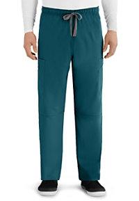 Grey's Anatomy Men's Derek 6 Pocket Cargo Scrub Pants