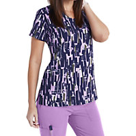 Greys Anatomy Signature Abstract Blocks Print Tops