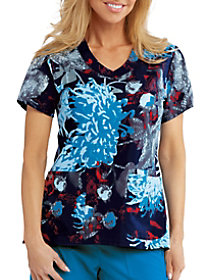 Nightfall Garden V-Neck Top