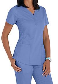 ed02af58a83 See Details item #2167 · Healing Hands Purple Label Jane V-neck 2 Pocket  Scrub Tops